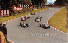 spo020702 - Old Vintage Auto Racing Postcard Post Card