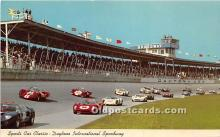 spo020704 - Old Vintage Auto Racing Postcard Post Card