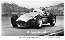 spo020705 - Old Vintage Auto Racing Postcard Post Card