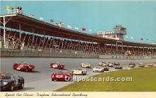 spo020707 - Old Vintage Auto Racing Postcard Post Card