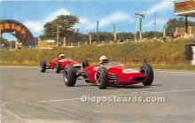 spo020708 - Old Vintage Auto Racing Postcard Post Card