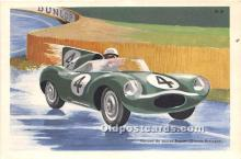 spo020710 - Old Vintage Auto Racing Postcard Post Card