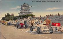 spo020726 - Old Vintage Auto Racing Postcard Post Card