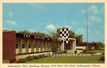 spo020727 - Old Vintage Auto Racing Postcard Post Card