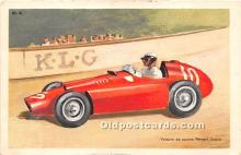 spo020741 - Old Vintage Auto Racing Postcard Post Card