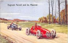 spo020743 - Old Vintage Auto Racing Postcard Post Card