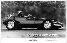 spo020745 - Old Vintage Auto Racing Postcard Post Card