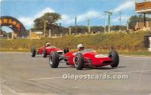 spo020754 - Old Vintage Auto Racing Postcard Post Card