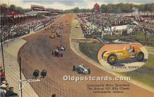 spo020755 - Old Vintage Auto Racing Postcard Post Card