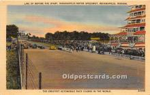 spo020762 - Old Vintage Auto Racing Postcard Post Card
