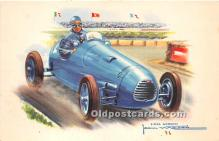 spo020767 - Old Vintage Auto Racing Postcard Post Card