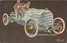 spo020777 - Old Vintage Auto Racing Postcard Post Card