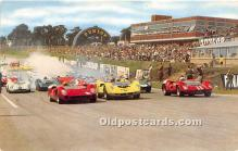 spo020778 - Old Vintage Auto Racing Postcard Post Card