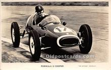 spo020780 - Old Vintage Auto Racing Postcard Post Card
