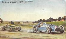 spo020783 - Old Vintage Auto Racing Postcard Post Card