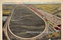 spo020784 - Old Vintage Auto Racing Postcard Post Card