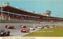 spo020786 - Old Vintage Auto Racing Postcard Post Card