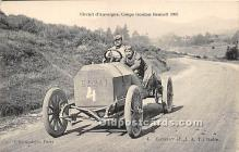 spo020789 - Old Vintage Auto Racing Postcard Post Card