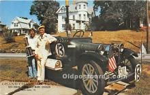 spo020798 - Old Vintage Auto Racing Postcard Post Card