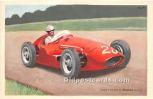 spo020799 - Old Vintage Auto Racing Postcard Post Card
