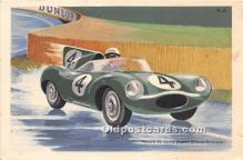 spo020800 - Old Vintage Auto Racing Postcard Post Card