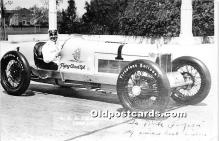 spo020803 - Old Vintage Auto Racing Postcard Post Card