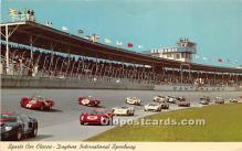 spo020805 - Old Vintage Auto Racing Postcard Post Card