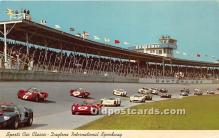 spo020814 - Old Vintage Auto Racing Postcard Post Card