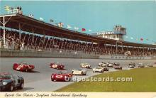 spo020816 - Old Vintage Auto Racing Postcard Post Card