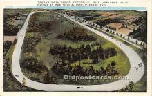 spo020817 - Old Vintage Auto Racing Postcard Post Card