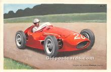 spo020819 - Old Vintage Auto Racing Postcard Post Card