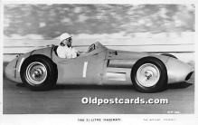 spo020820 - Old Vintage Auto Racing Postcard Post Card