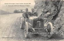 spo020821 - Old Vintage Auto Racing Postcard Post Card