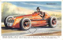 spo020822 - Old Vintage Auto Racing Postcard Post Card