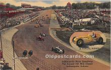 spo020823 - Old Vintage Auto Racing Postcard Post Card