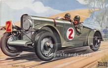 spo020828 - Old Vintage Auto Racing Postcard Post Card