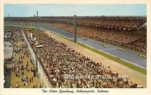 spo020830 - Old Vintage Auto Racing Postcard Post Card