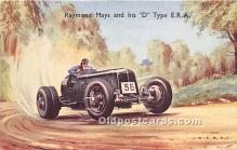 spo020838 - Old Vintage Auto Racing Postcard Post Card