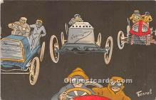 spo020840 - Old Vintage Auto Racing Postcard Post Card