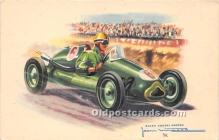 spo020845 - Old Vintage Auto Racing Postcard Post Card