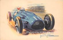 spo020846 - Old Vintage Auto Racing Postcard Post Card