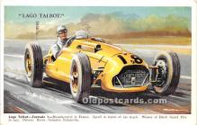 spo020850 - Old Vintage Auto Racing Postcard Post Card