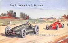 spo020854 - Old Vintage Auto Racing Postcard Post Card