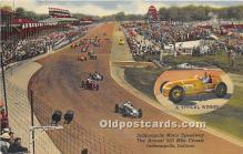 spo020855 - Old Vintage Auto Racing Postcard Post Card