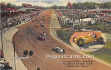 spo020858 - Old Vintage Auto Racing Postcard Post Card