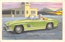 spo020861 - Old Vintage Auto Racing Postcard Post Card