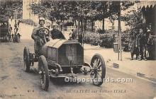 spo020863 - Old Vintage Auto Racing Postcard Post Card