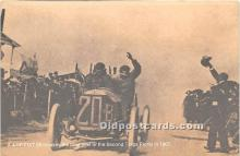 spo020868 - Old Vintage Auto Racing Postcard Post Card