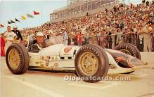 spo020869 - Old Vintage Auto Racing Postcard Post Card