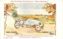 spo020879 - Old Vintage Auto Racing Postcard Post Card